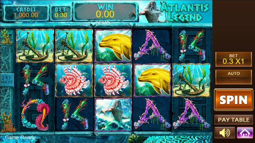 Spielen Sie Legend Of Atlantis Kostenlos Im Demo Mode Von Platipus