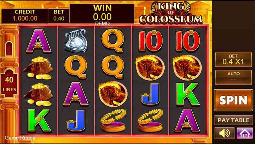 Spielen Sie King Of Colosseum Kostenlos Im Demo Mode Von PlayStar